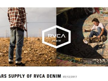 RVCA Year Supply of Denim Sweepstakes