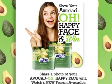 Welch's Frozen Avocad-OH Sweepstakes – Facebook