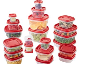 Win a 42-piece set of Rubbermaid Storage Containers