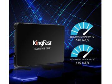 Win a Kingfast SSD 240GB Solid State Drive