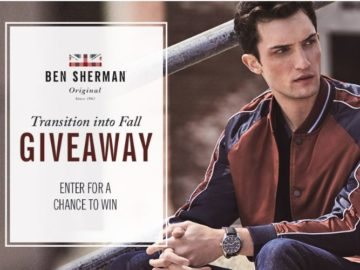 Ben Sherman Transition to Fall Giveaway Contest