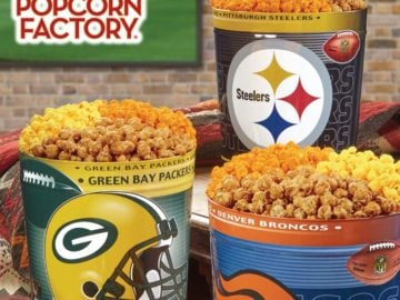 Popcorn Factory Fall 2017 NFL Football Tin Giveaway Sweepstakes – Facebook
