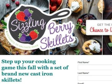 California Giant Berry Farm Fresh Start: College Edition Sweepstakes