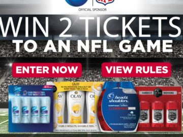 P&G	Football Sweepstakes – Limited States