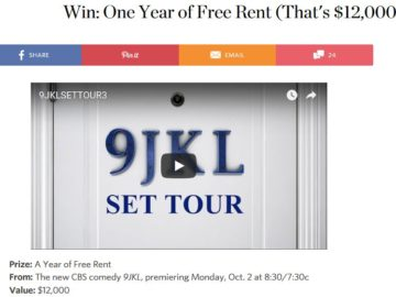 """Apartment Therapy """"Free Rent for a Year"""" Sweepstakes"""
