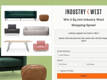 Industry West Shopping Spree Sweepstakes
