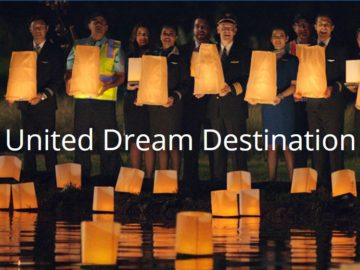 """United Airlines """"Dream Destination"""" Sweepstakes"""