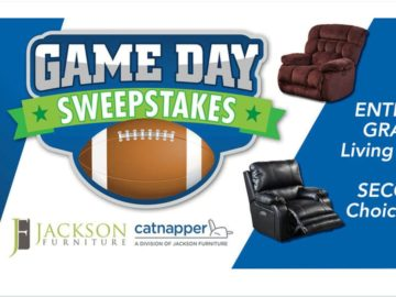 CatNapper Game Day Sweepstakes
