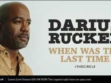 Darius Rucker When Was The Last Time Sweepstakes