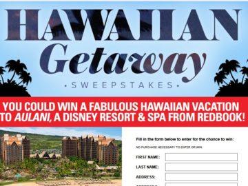 Redbook Girlfriends' Hawaiian Getaway Sweepstakes