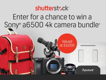 Shutterstock Fall Giveaway Sweepstakes