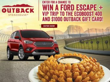 "Outback Steakhouse ""2017 Fall Racing"" Sweepstakes"