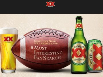 Dos Equis 'Most Interesting Fan' Sweepstakes