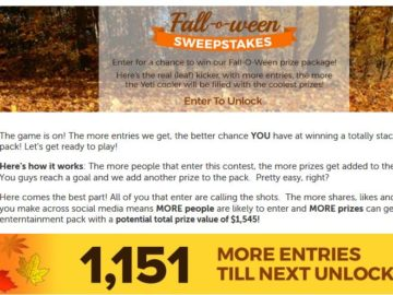 Dish Network Fall-O-Ween Sweepstakes
