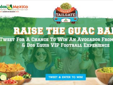Avocados From Mexico 2017 Tastiest Tailgate Sweepstakes