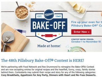 48th Pillsbury Bake-Off Contest
