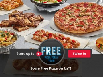 Score Free Pizza on Domino's Quikly Sweepstakes