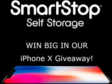 SmartStop Self Storage iPhone X Giveaway Sweepstakes – Facebook