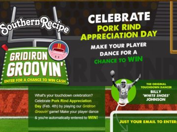 Pork Rinds Southern Recipe Gridiron Groovin' Sweepstakes