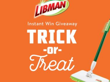 Libman Company Trick or Treat Instant Giveaway Sweepstakes – Facebook