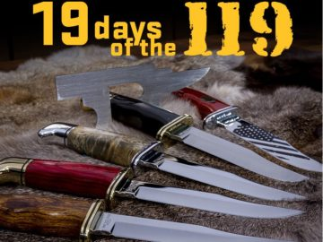 Buck Knives 19 days of the 119 Giveaway Sweepstakes
