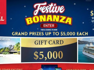Royal Festive Bonanza Sweepstakes and Instant Win Game