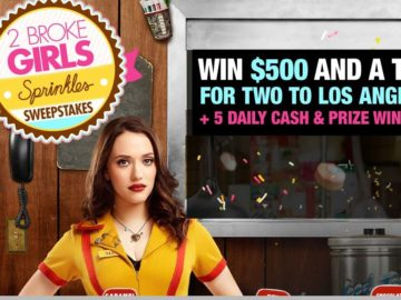 2 Broke Girls Sprinkles SWEETstakes Sweepstakes – Code Word