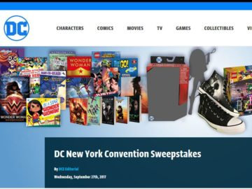 DC New York Convention Sweepstakes