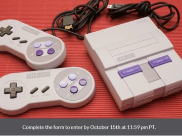 CNET & GameSpot SNES Classic Giveaway Sweepstakes
