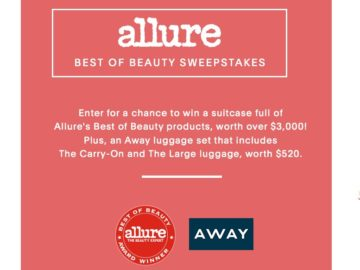 Allure's Best of Beauty 2017 Sweepstakes