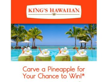 King's Hawaiian Hallowaiian Sweepstakes
