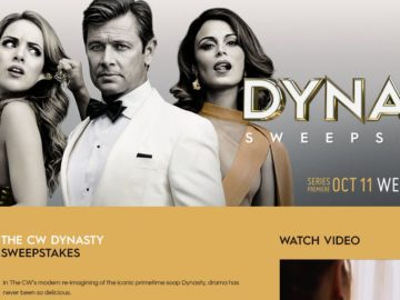 CW Dynasty Sweepstakes