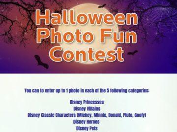 Disney Family Movies' Halloween Photo Fun Contest