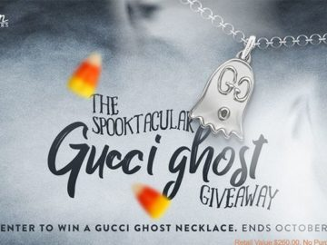 J.R. Dunn Jewelers Spooktacular Gucci Ghost Giveaway Sweepstakes