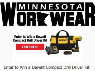 Minnesota Workwear Sweepstakes
