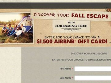 Dreaming Tree Explore Sweepstakes