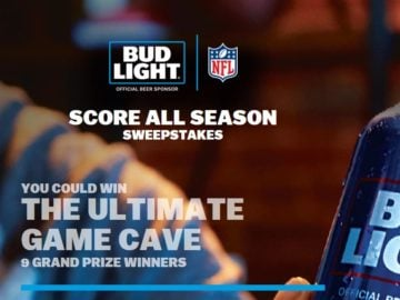 Bud Light NFL Score All Season Sweepstakes – Limited States