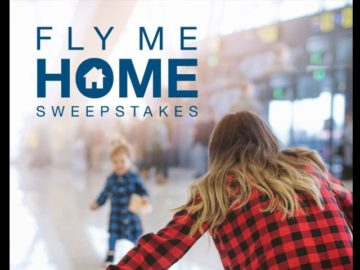 "Orbitz's ""Fly Me Home for the Holidays"" Instagram and Facebook Sweepstakes"