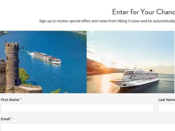 "Viking Cruises ""2017 Q4"" Sweepstakes"