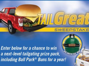 Ball Park Buns TailGreat! Sweepstakes
