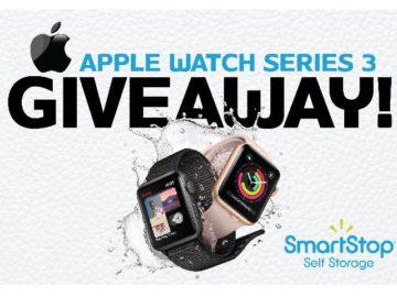 SmartStop Self Storage Apple Watch Giveaway Sweepstakes – Facebook