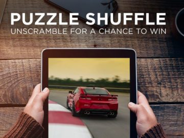 GM Rewards Cards Puzzle Shuffle Contest & Instant Win Game
