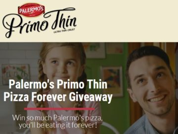 Palermo Villa Inc.'s Pizza Forever Sweepstakes