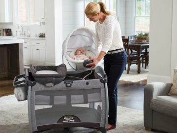Graco Pack 'n Play Quick Connect with Portable Bouncer Playard Social Media Sweepstakes