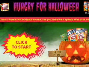 Slim Jim Hungry For Halloween Sweepstakes