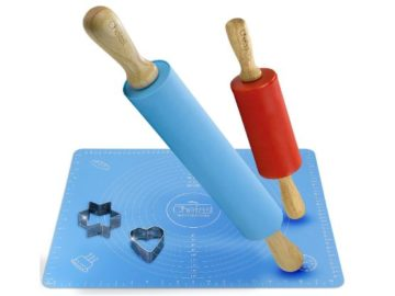 Win a Chefast Rolling Pin and Pastry Mat Set