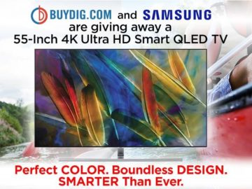 Buydig.com and Samsung TV Sweepstakes – Facebook