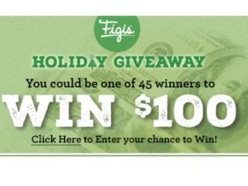 FIGI'S Fall 2017 $100 Giveaway Sweepstakes