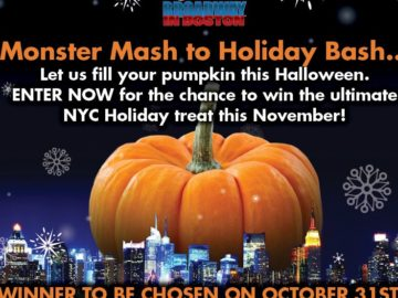 Broadway in Boston Christmas in New York Sweepstakes – Facebook