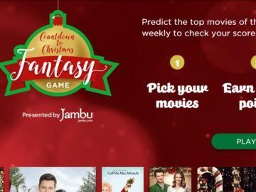 Hallmark Channel Countdown to Christmas Fantasy Game